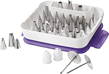 Wilton Master 2104-0240 55-Piece Decorating Tip Set