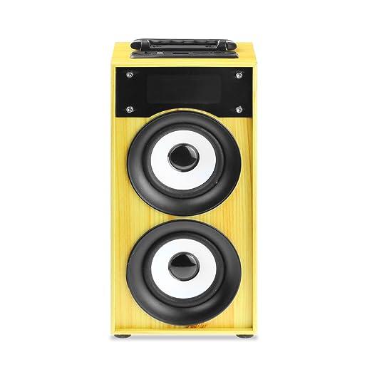 2 opinioni per Altoparlante Bluetooth Inalambrico Portatil con manico e altoparlante 10W con FM