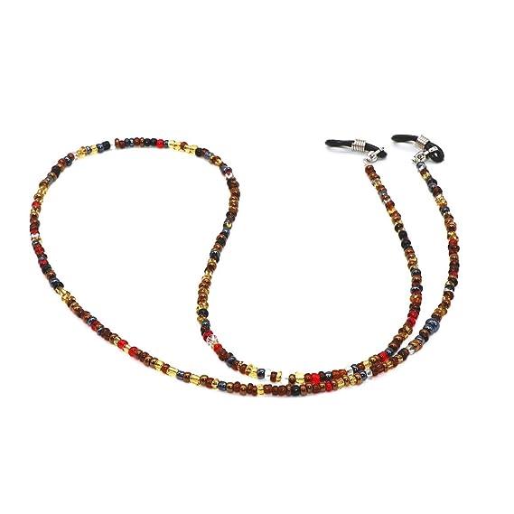 Amazon.com: Correa para gafas de sol con cuentas, talla ...