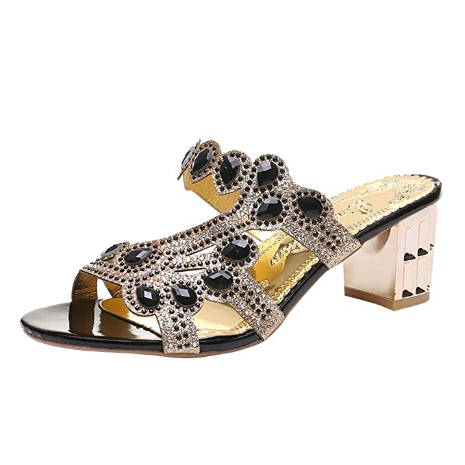 Ladies Spot On Flat Jelly Toe Post Beaded /'Sandals/'