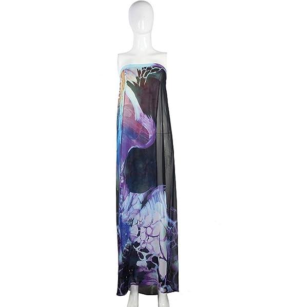 Verano Mujeres Moda Atractivo Velo Blusa Del Bikini Dos Opciones De Color,BlueAndBlack-AllCode