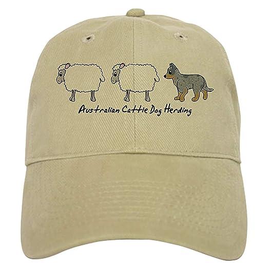 9ec361913 Cartoon Blue Heeler Herding Cap - Baseball Cap with Adjustable ...