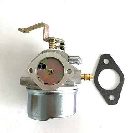 HQparts Generator Carburetor Coleman Maxa 5000 ER Plus 10hp Tecumseh  Powerbase Powermate PM0525202