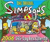 The Trivial Simpsons 2006 365-Day Box Calendar, Matt Groening, 0060786922