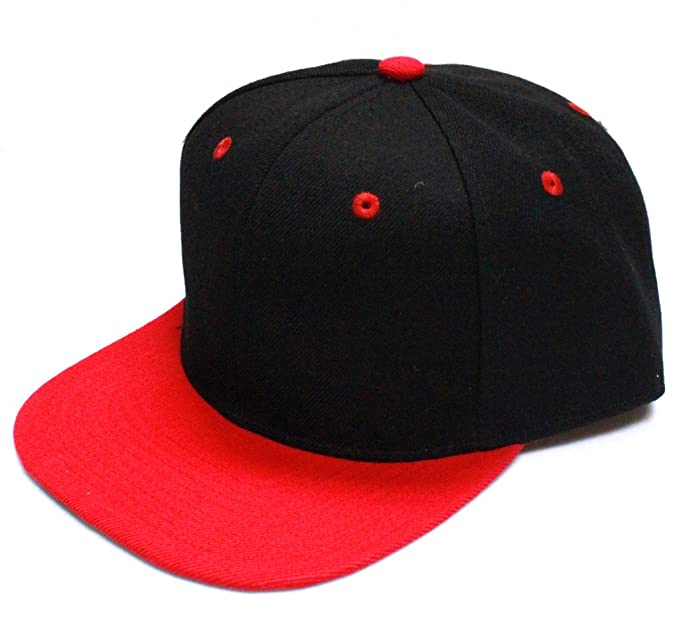 14a622d3b8a3f City Hunter CF918T Two Tone Snapback -black red - One Size at Amazon ...