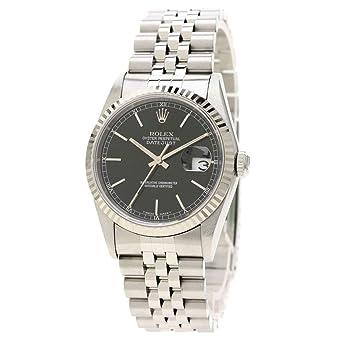 new arrival 783b3 70b89 Amazon | [ロレックス]デイトジャスト 16234 腕時計 ステンレス ...