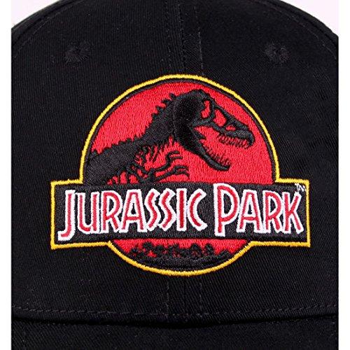 Cap JURASSIC Cap Black Logo Logo PARK Black JURASSIC PARK JURASSIC S410xBS