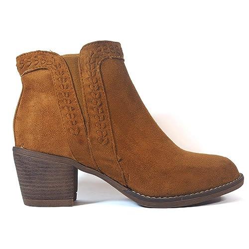 Botines BENINI A8128 Camel - Color - Camel, Talla - 39: Amazon.es: Zapatos y complementos