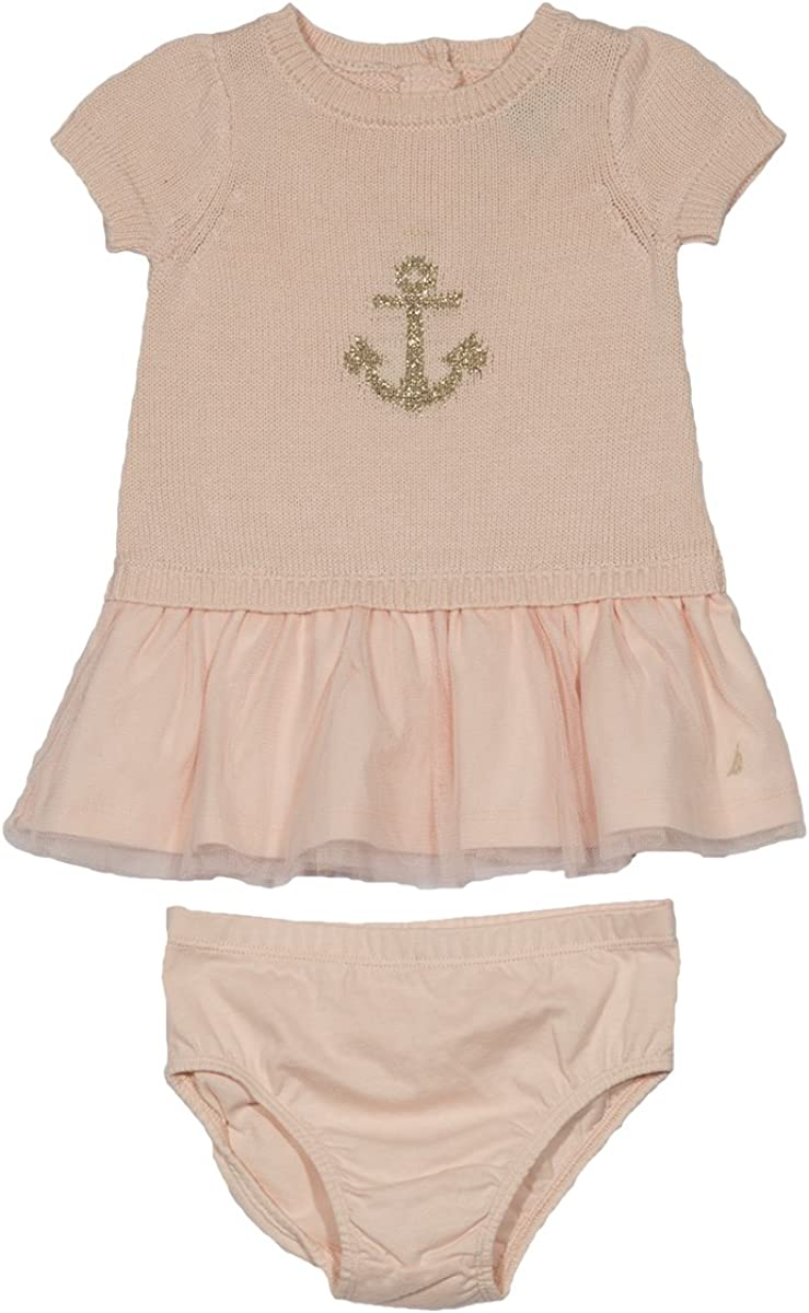 Two-Piece Anchor Swim Set sizes 12,18,24 months Nautica Girls/' baby set