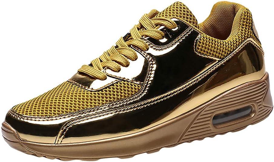 Deportivas de Verano Elegantes, Zapatillas de Running para Hombre, ultraligeras y Transpirables, Zapatillas de Running de Paseo atléticas Size: 39 EU: Amazon.es: Zapatos y complementos