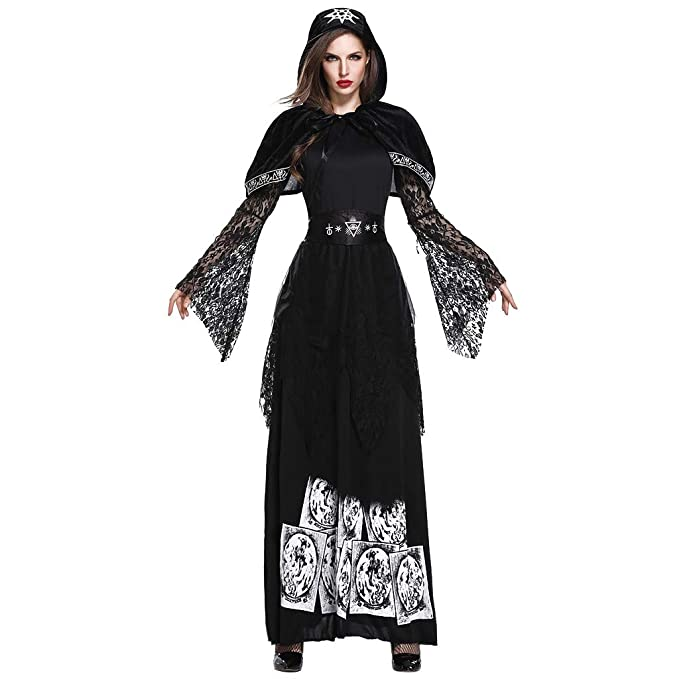 Amazon.com: Disfraz sexy de bruja para mujer, Forthery ...