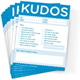 Kudos for Colleagues - Set of 10 Blue Note Pads For Office & Workplace