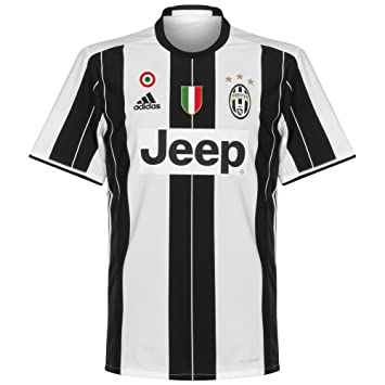 6c09778a Juventus Home Shirt incl Coppa Italia and Scudetto Patches 2016 2017 - S