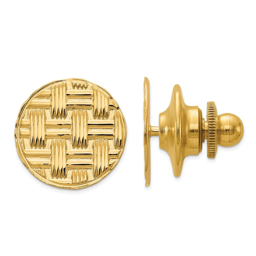 14K Yellow Gold Tie tac