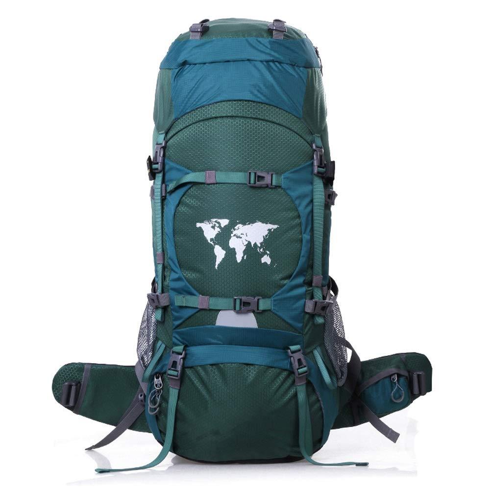 RMXMY アウトドアスポーツファッションレジャー旅行バックパックハイキングバッグキャンプバッグ週末のバッグ旅行バックパック強い耐摩耗性バックパック2色オプション (色 : B) B07QPFYQPV B