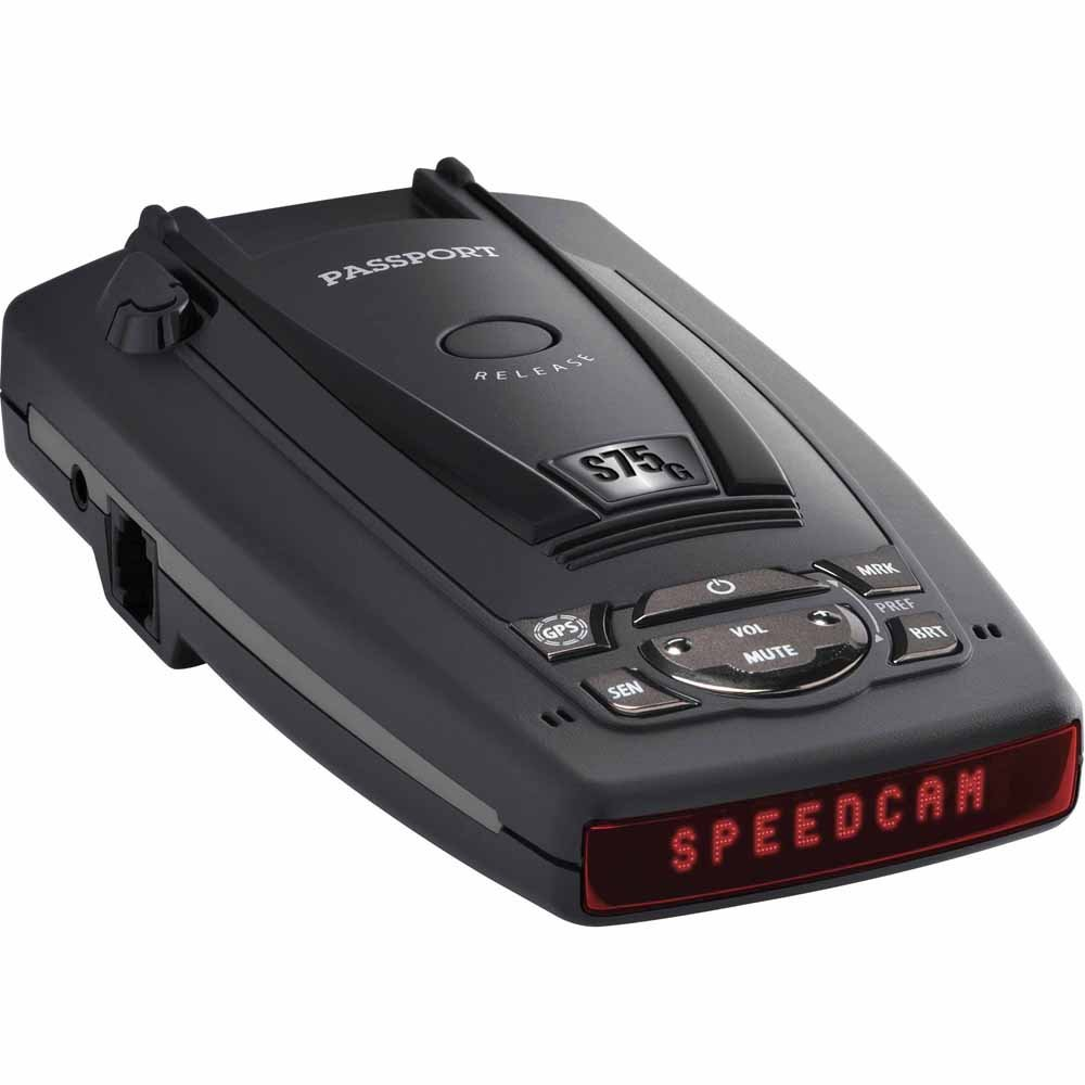 Escort Passport S75 Radar Detector With BSM Filter & GPS with Auto Lock by Escort (Image #1)