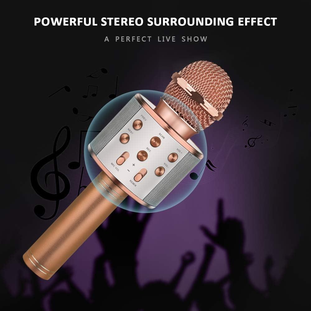 KITY Wireless Bluetooth Karaoke Microphone Best Gifts