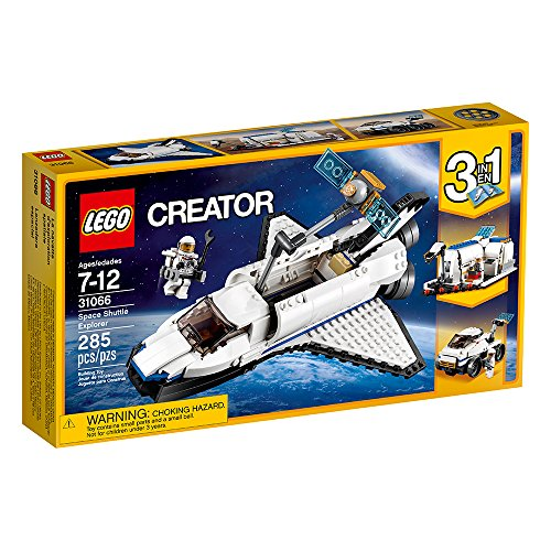LEGO Creator Space Shuttle Explorer 31066 Building Kit (285 Piece) JungleDealsBlog.com