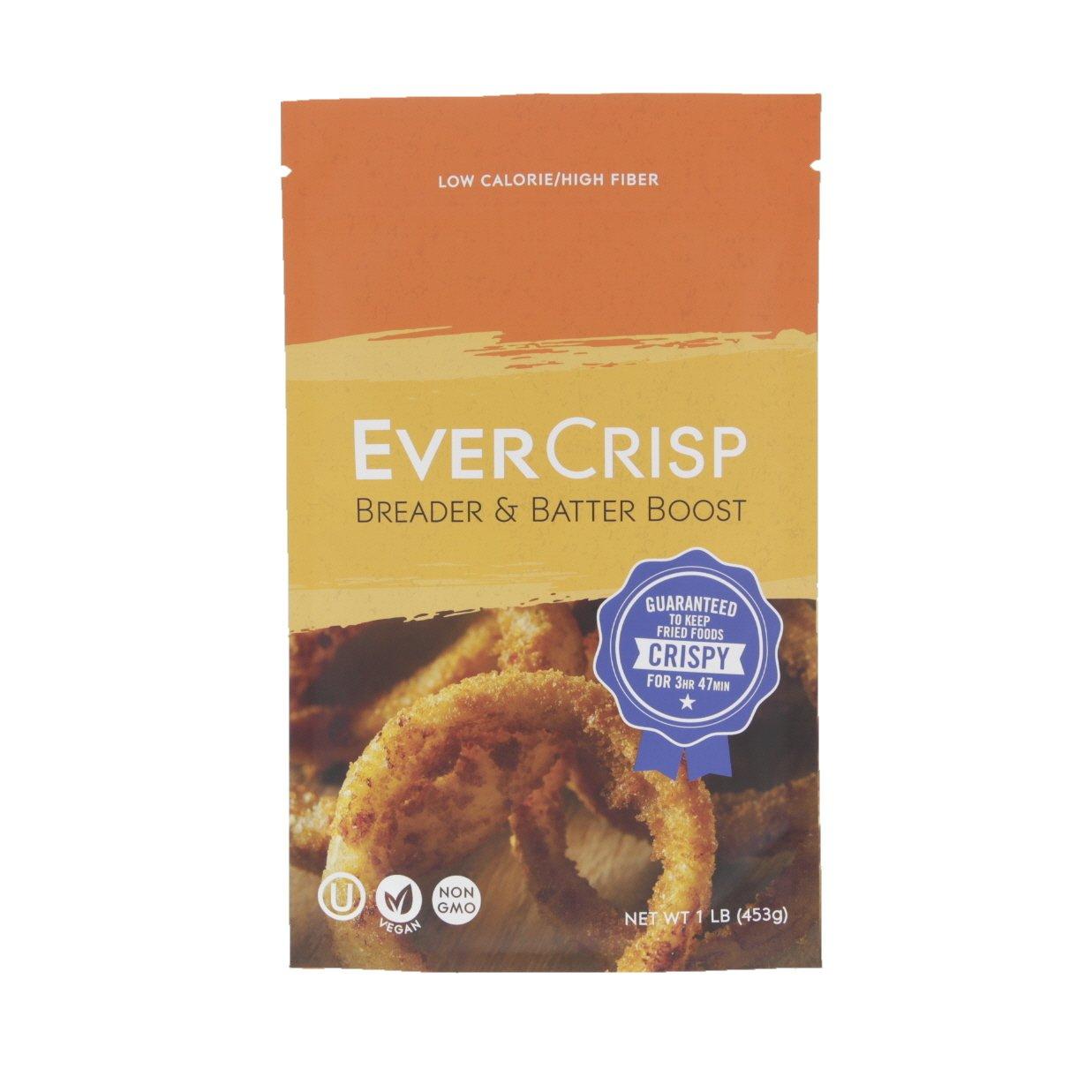 EverCrisp Breader & Batter Boost ☮ Vegan ✡ OU Kosher Certified ⊘ Non-GMO - 1lb/16oz/453g