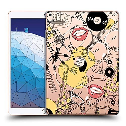 Head Case Designs Musician Doodle Professions Hard Back Case Compatible for iPad Air (2019)