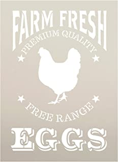 photo regarding Chicken Stencil Printable referred to as : Cow Pig Chicken Farm Stack Stencil for Portray