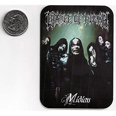 Gear Tatz Cradle of Filth Midian Sticker/Decal: Automotive
