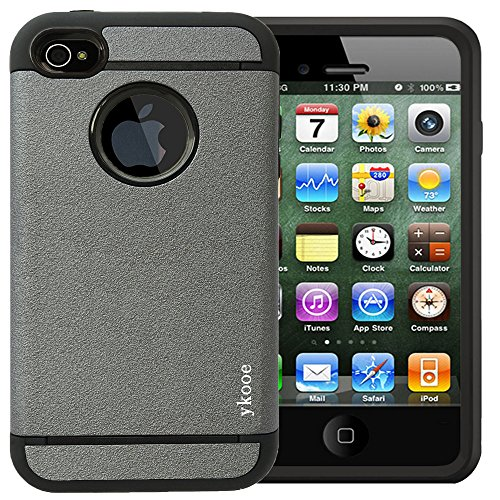IPhone 4 Case,ykooe (Elegant Series) iPhone 4S Classical - Iphone 4s Cases For Men