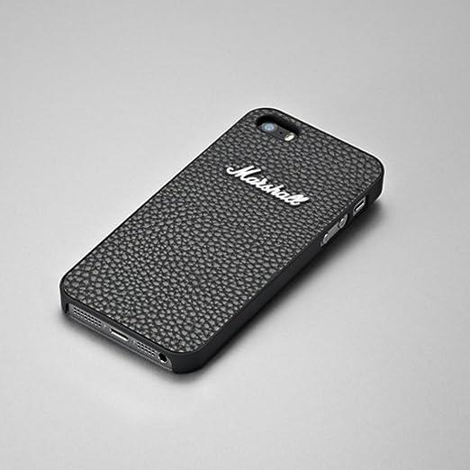 2 opinioni per Marshall MA4090886-Custodia in pelle per Apple iPhone 5/5s, pellicola, nero