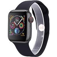 Smartwatch Samba IWO 11 Pro com GPS - Pulseira Silicone 44mm (Preto)