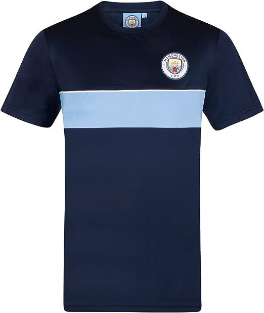 Manchester City FC Official Football Gift Kids Crest T-Shirt