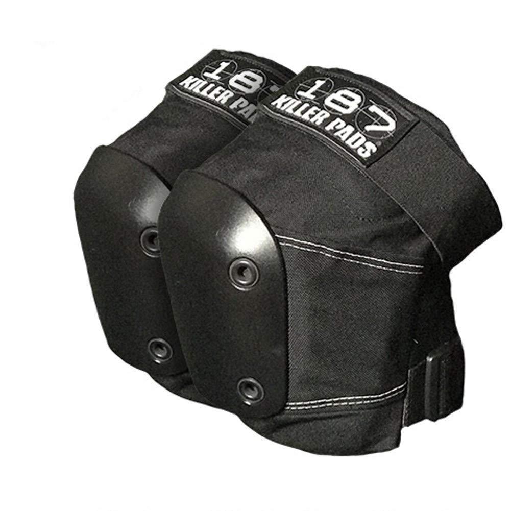 187 Slim Knee Pads Black/Black XL