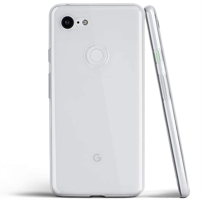 huge discount 5b786 04b37 Clear Pixel 3 Case, Thin Soft Cover Slim Flexible TPU - for Google Pixel 3  (2018) - totallee (Transparent)
