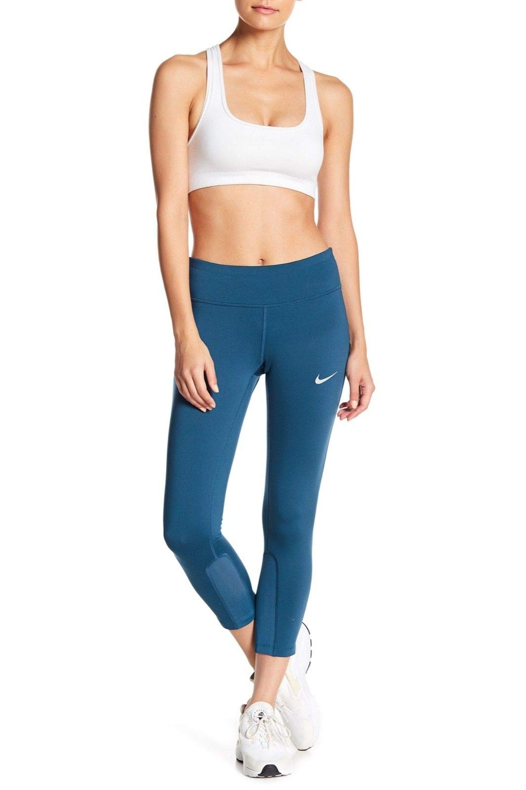 NIKE Women's Dri-Fit Epic Running Crop Tights 938602 425 Size X-Small