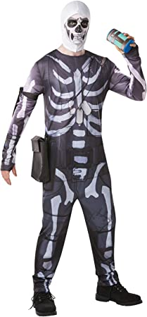 Fortnite - Disfraz Skull Trooper para adulto, talla M (Rubies 300195 ...