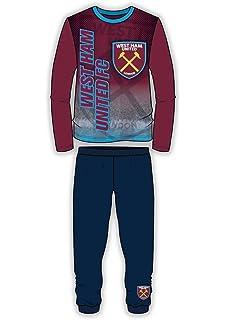 Kids Boys Girls West Ham Football Dressing Gown Bathrobe Hammers