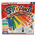 Roylco Straws and Connectors Building Kit - Pack of 230 - Assorted Colors