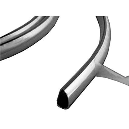 Amazon com: Chrome Front Bumper Impact Strip for 95-97