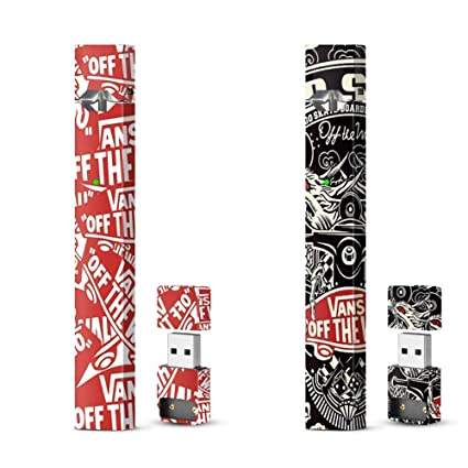 b10245c867 Amazon.com  JUUL Skin Wrap Vinyl Decal Sticker JUUL Vans Pack  Computers    Accessories
