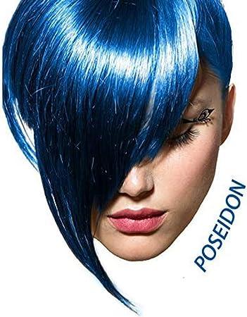 Arctic Fox Semi Permanent Hair Color Dye 4 Ounce (Poseidon) by Arctic Fox