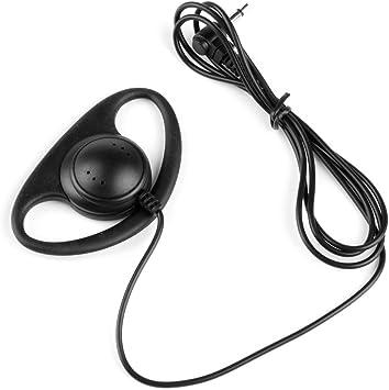 Listen Only Earpiece for Motorola Microphone 3.5mm jack PR400 PR860 CP200 HT750