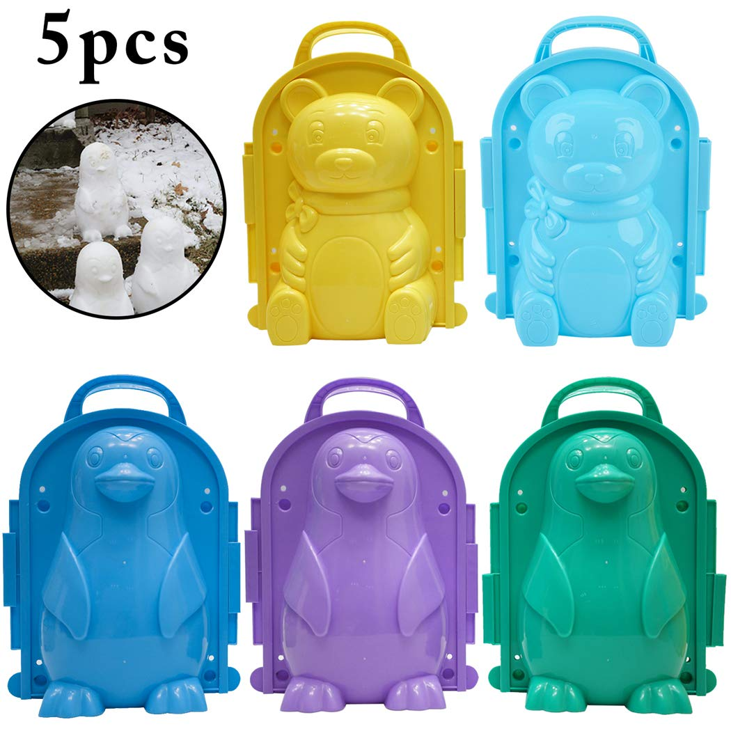 Sand or Snow Molds For Kids