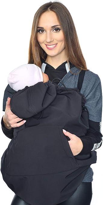 Maternity fleece warm Baby Universal Windproof Carrier Cover 4022 Mija Black