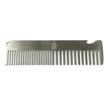 Mini Pocket Mustache Brush With Bottle Opener Stainless Steel Beard B Multi Functional Men S