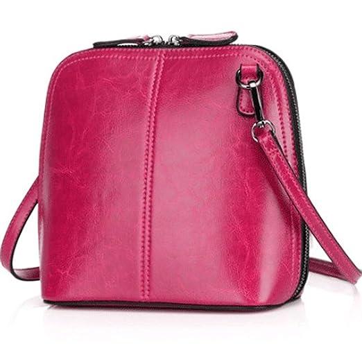 32b0e3c94653 Amazon.com: Chibi-store Fashion Women's Genuine Leather Shoulder ...