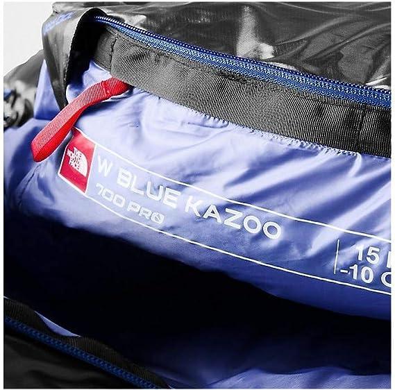 The North Face Blue Kazoo Sac de couchage Normal Femme, high rise greystellar blue