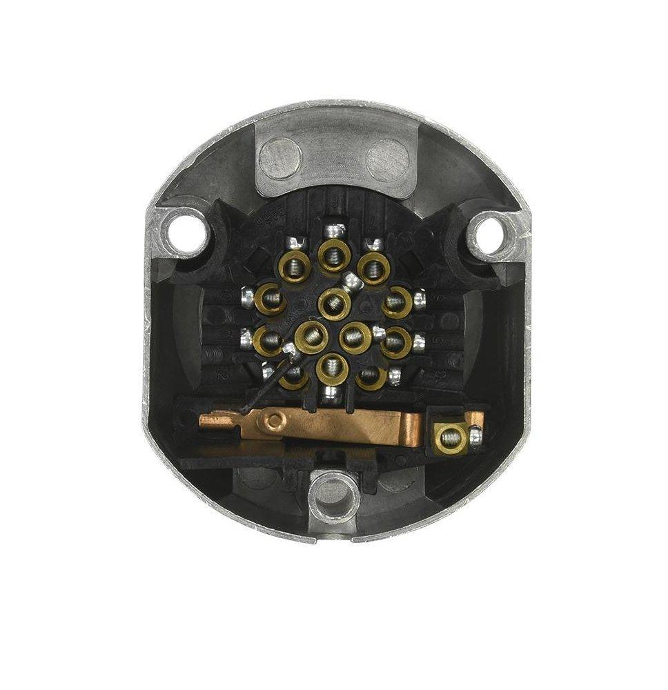 Enchufe 13/pines metal Sistema Jaeger con apagado autom/ático schwagers de Notebook Shop