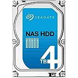 Seagate シーゲイト 内蔵ハードディスク NAS 4TB ( 3.5 インチ / SATA 6Gb/s / 5900rpm / 64MB / 3年保証 ) 正規輸入品 ST4000VN000