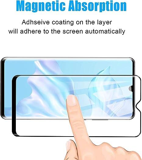 Voviqi Protector de Pantalla Huawei P30 Pro, de Cristal Templado ...