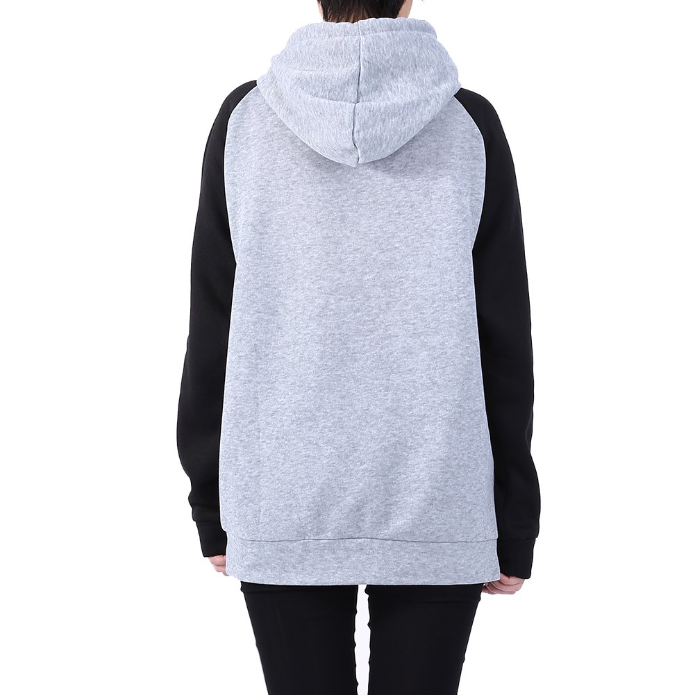 Amazon.com: FTVOGUE Men Women Long Sleeve Sweater Letter Printing Pullover Couple Outfit Hoodie Sweatshirt: Clothing