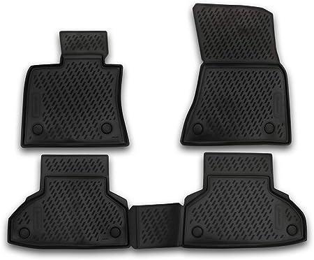 Element Exp Carbmw00001 Passgenaue Premium Antirutsch Gummi Fußmatten Bmw X6 Jahr 14 20 Schwarz Passform Auto
